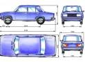 Практикум по освоению габаритов легкового автомобиля